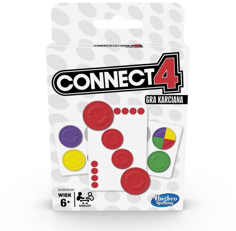 Gra karciana Connect 4 Card Game