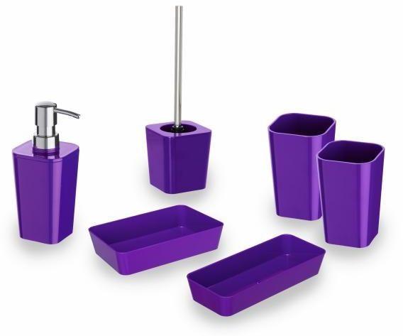 Zestaw łazienkowy WENKO - Candy purple