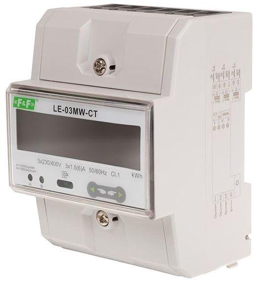 Trójfazowy licznik energii elektrycznej LE-03MW-CT