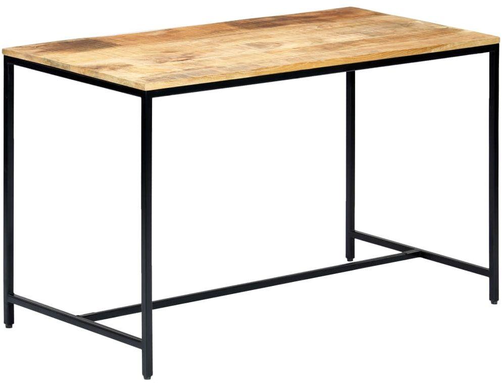 Industrialny stół z drewna mango Avis  jasnobrązowy