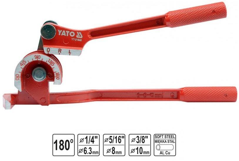 YATO GIĘTARKA DO RUR 6 - 10mm 21840