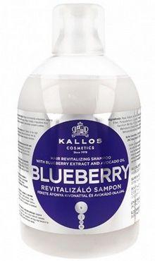Kallos Blueberry szampon odżywczy do włosów suchych 1000 ml