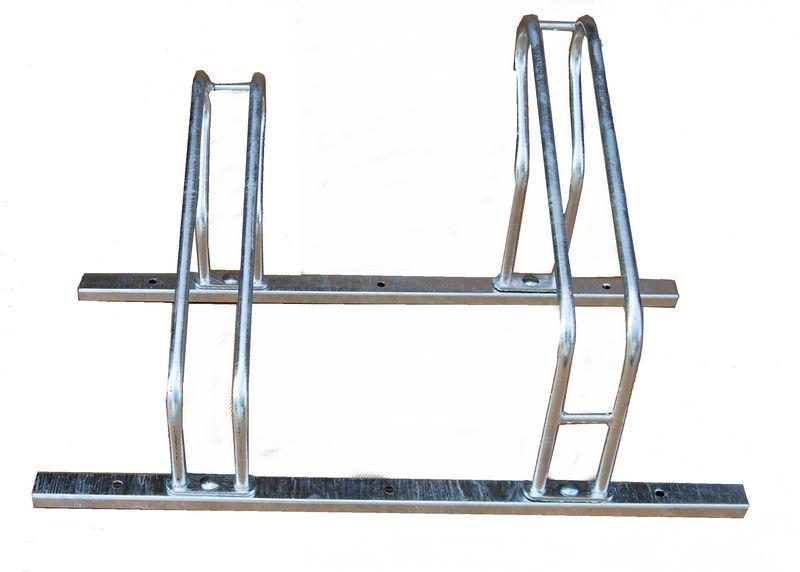 Skręcany stojak rowerowy na 2 rowery Modułowy, skręcany stojak rowerowy