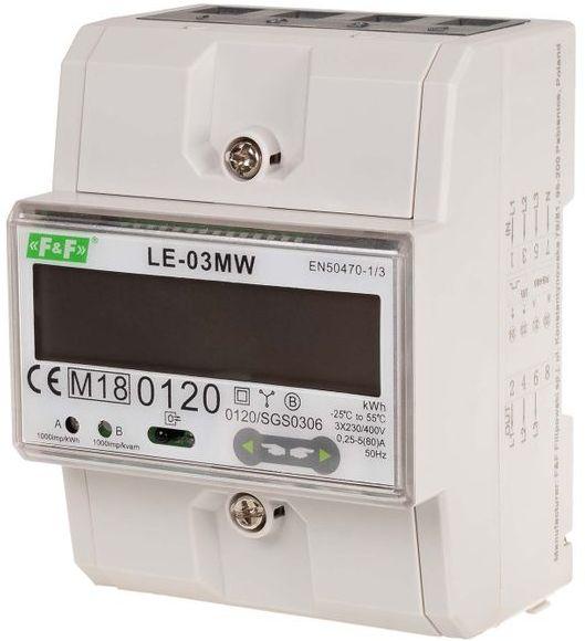 Trójfazowy licznik energii elektrycznej LE-03MW