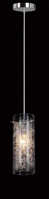 Italux lampa wisząca Ibiza MDM1903/1 szklany klosz 10cm