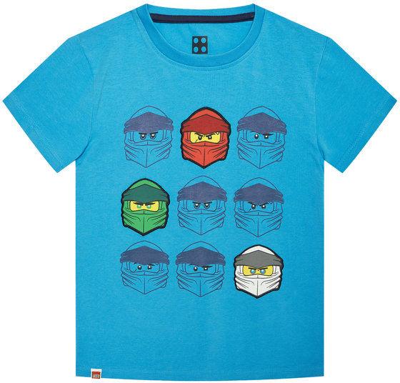 LEGO Wear T-Shirt 12010022 Niebieski Regular Fit