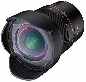 SAMYANG 22794 MF 14 mm F2.8 Z Nikon Z - ręczny obiektyw ultraszerokokątny, 14 mm stałoogniskowa do serii Nikon Z, aparatów Nikon F, pełnoklatkowy, APS-C