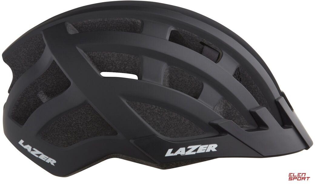Kask rowerowy Lazer Compact DLX (54-61) czarny