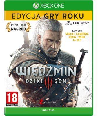 Gra Xbox One Wiedźmin 3: Dziki Gon - Edycja Gry Roku. > DARMOWA DOSTAWA ODBIÓR W 29 MIN DOGODNE RATY