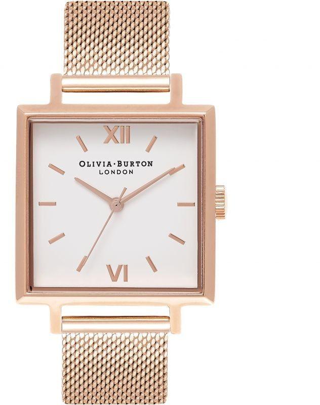 Zegarek damski Olivia Burton Square Dials OB16SS10