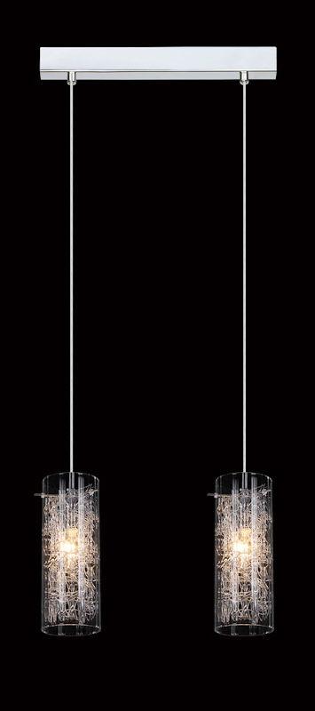 Italux lampa wisząca Ibiza MDM1903/2 podwójna 32cm