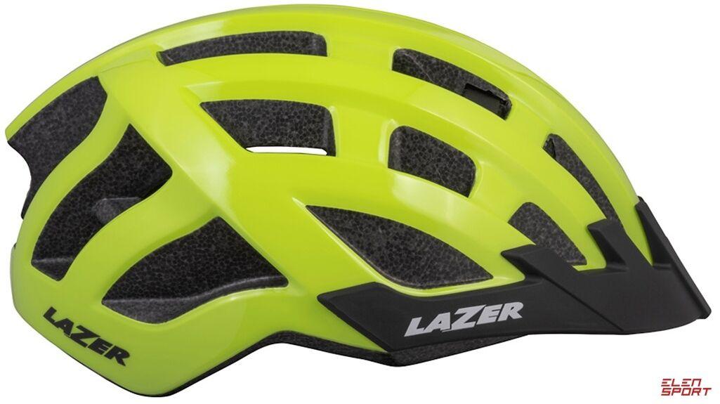 Kask rowerowy Lazer Compact DLX (54-61) jaskrawożółty