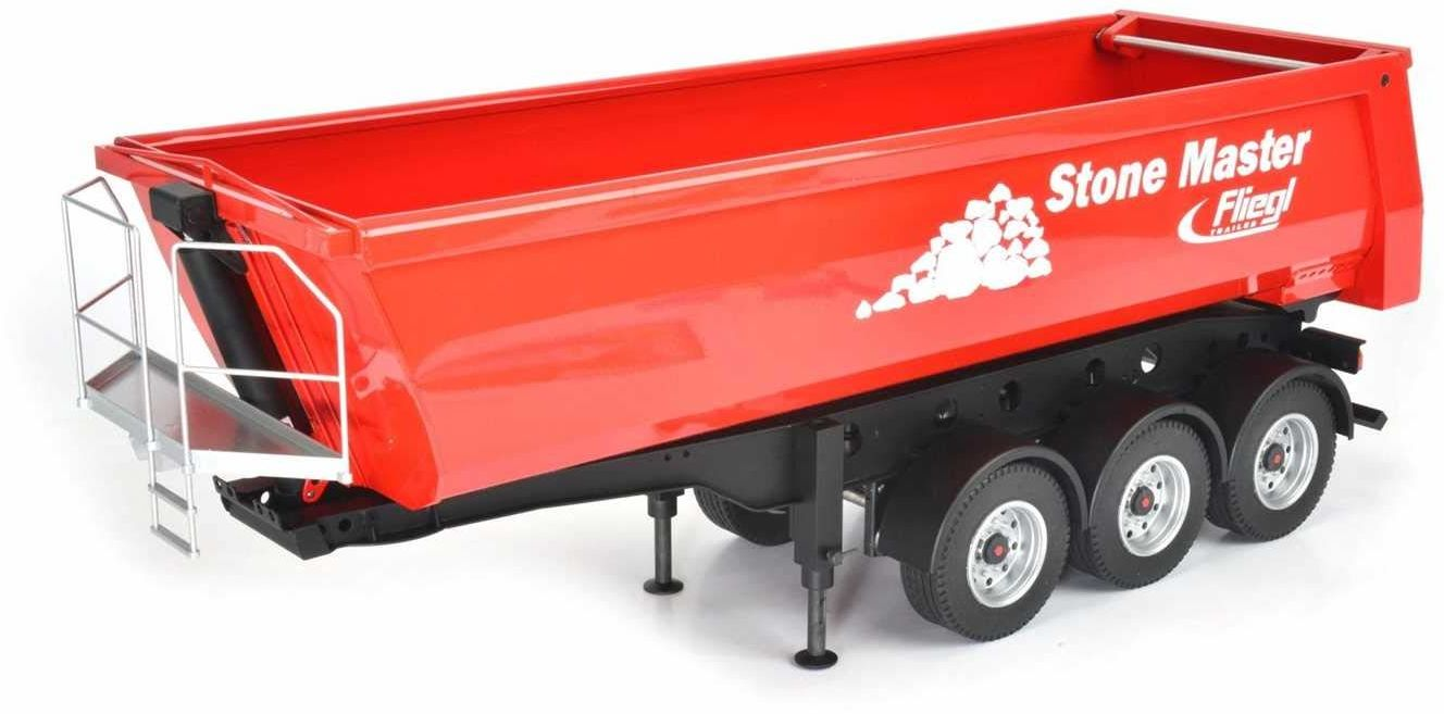 Carson 1:14 wywrotka wywrotka Fliegl Stone Master, RC, akcesoria do ciężarówek Tamiya, części zamienne, części tuningowe, modelarstwo, Made in Germany, 500907216