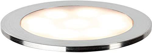 Paulmann 93829 lampa do zabudowy Special Line Allround IP67 wodoodporna lampa do zabudowy lampa do zabudowy satynowana biała wielobarwna lampa sufitowa 1 x 0,7 W lampa