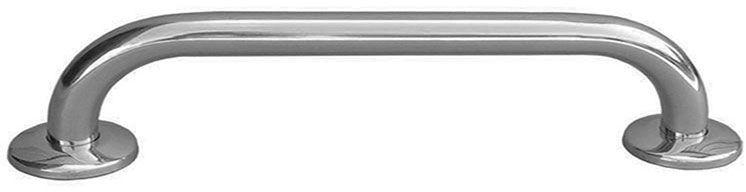 Poręcz łazienkowa dla niepełnosprawnych prosta fi 32 80 cm Faneco stal matowa
