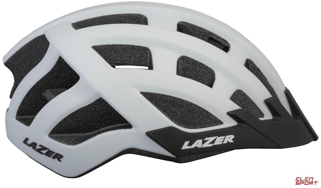 Kask rowerowy Lazer Compact DLX (54-61) biały