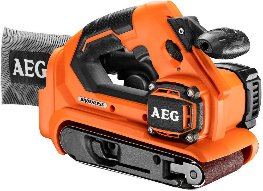 Bezszczotkowa szlifierka taśmowa AEG PowerTools BHBS18-75BL