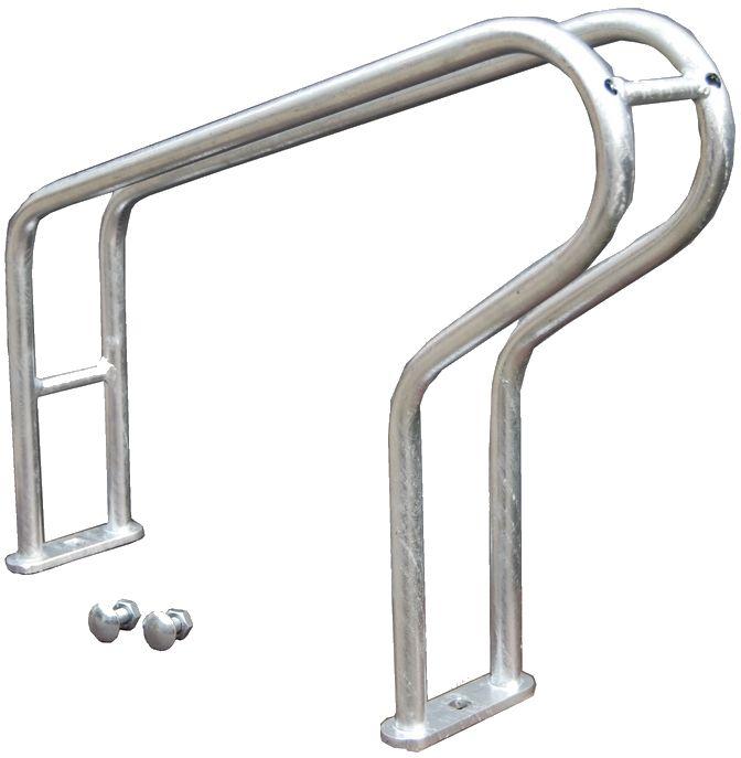 Wysokie stanowisko rowerowe do stojaka skręcanego