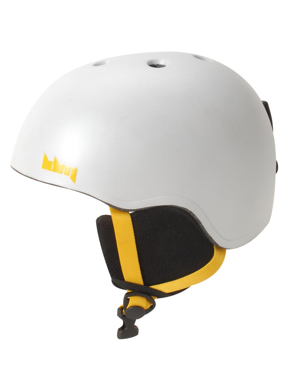 Leedom BOSS white kask snowboardowy