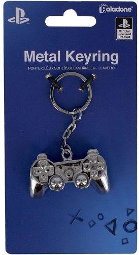 Brelok Metalowy Playstation