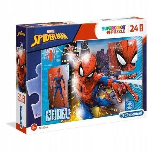 Puzzle 24 maxi Super kolor Spiderman