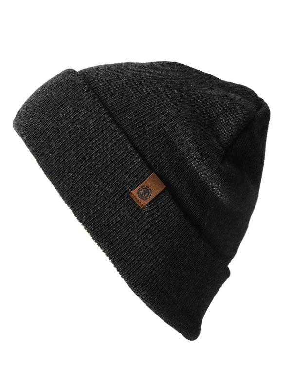 Element CARRIER II CHARCOAL HEATHE męska czapka zimowa
