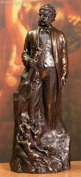 Johann Strauss prezent dla przyjaciela