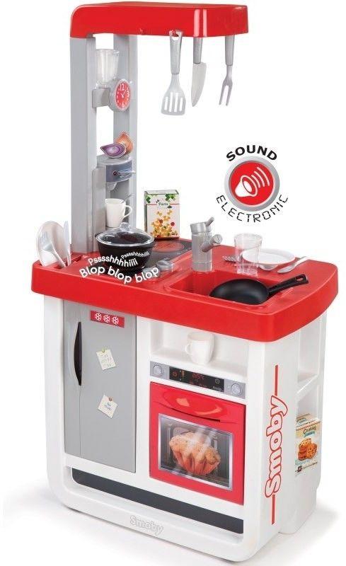 Smoby - Kuchnia elektroniczna Bon Appetit czerwona 310800