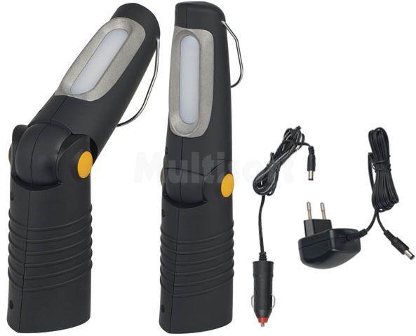 Akumulatorowa lampa warsztatowa 8SMD+5CREE LED