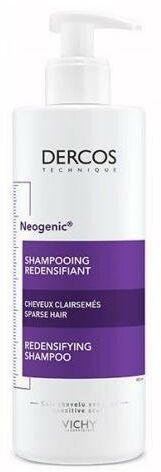 Vichy Dercos Neogenic szampon przywracający gęstość ze Stemoxydine do włosów przerzedzonych 400 ml