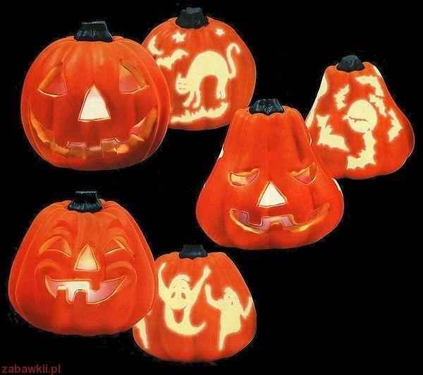 Dekoracja Halloween Dynia dekoracyjna z efektem iluminacyjnym 5294 Z