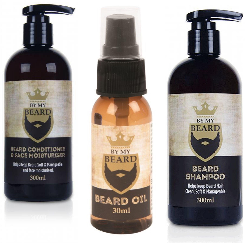 By My Beard UK Zestaw: olejek szampon odżywka