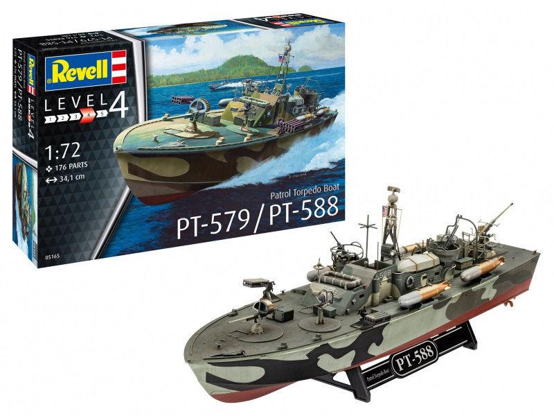 Model plastikowy Patrol Torpedo Boat PT-588/P