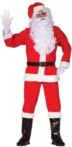 """Kostium dla mężczyzny Święty Mikołaj """"Mr. Claus"""" HIGH QUALITY"""