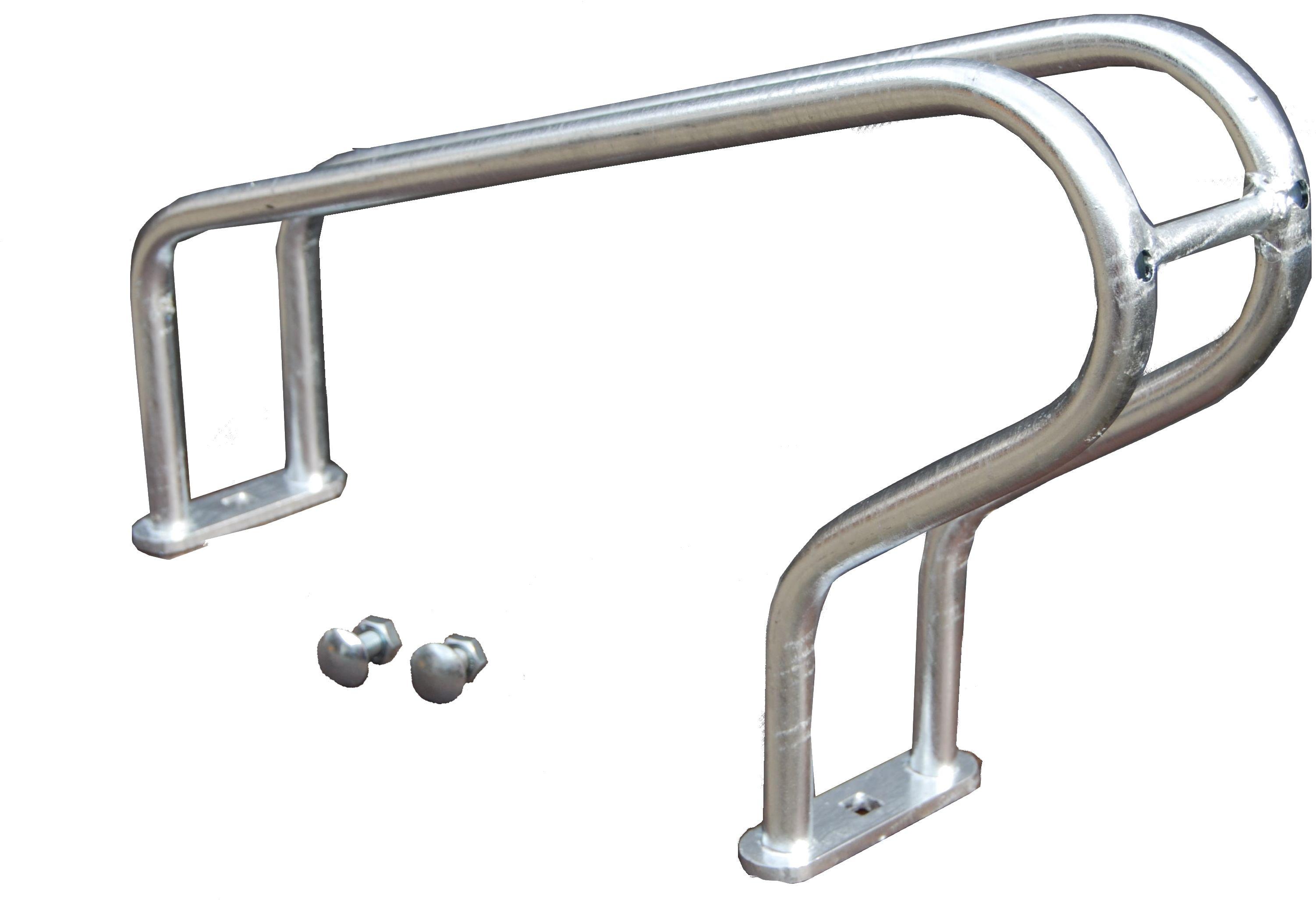 Niskie stanowisko rowerowe do stojaka skręcanego