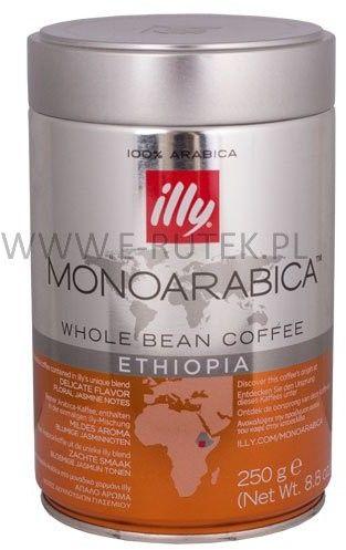 Illy Etiopia kawa ziarnista 250 g 6 szt.