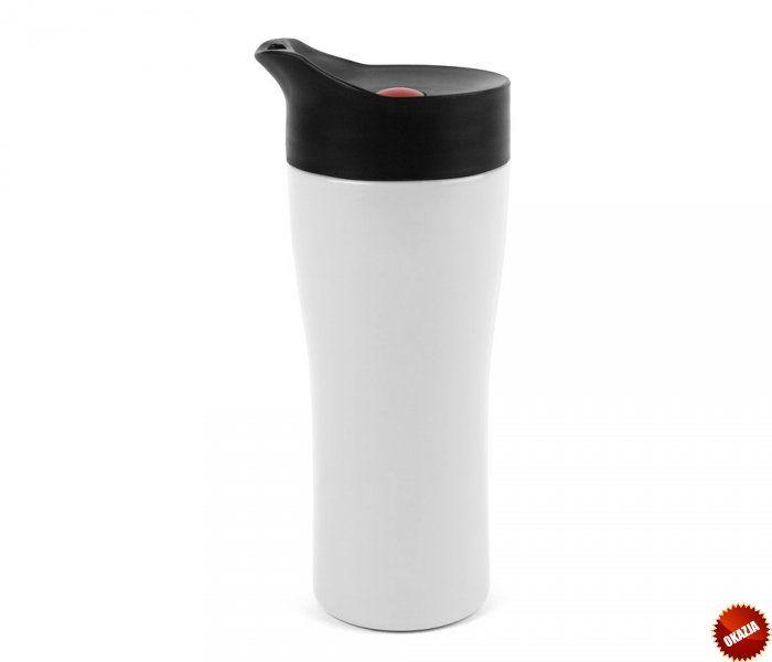 Kubek termiczny M-Thermo Mug 350 ml (biały) Wyprzedaż - 50%