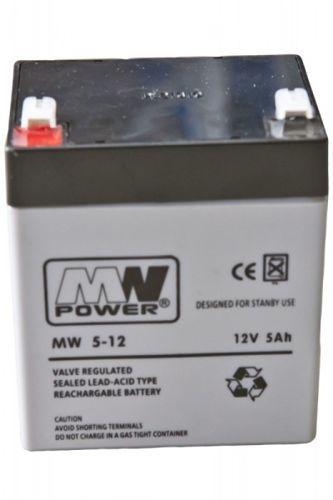 Akumulator żelowy MW 12V 5Ah