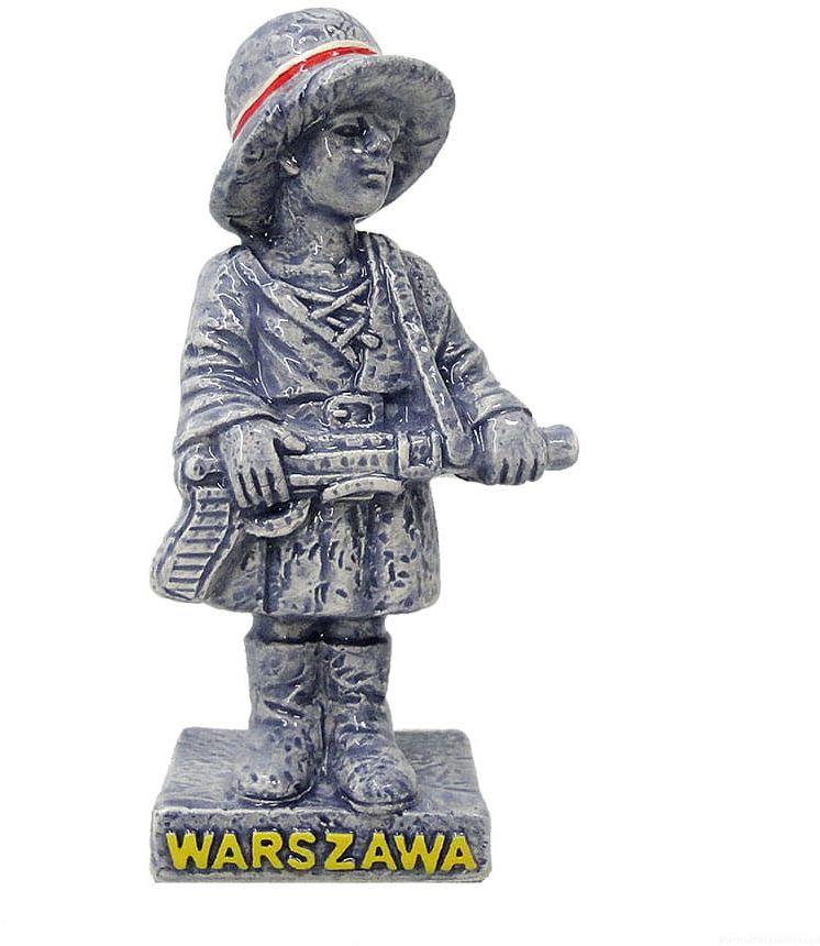 Ceramiczna statuetka Mały Powstaniec