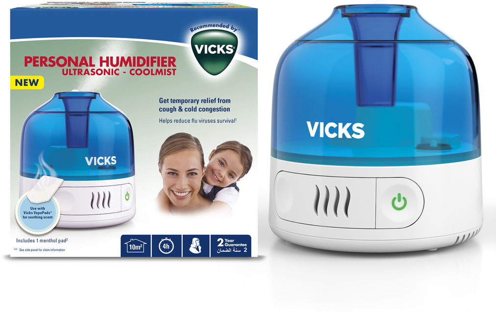 Vicks VUL 505 Ultradźwiękowy, osobisty nawilżacz powietrza