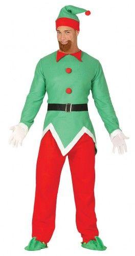 Kostium dla mężczyzny Świąteczny Elf