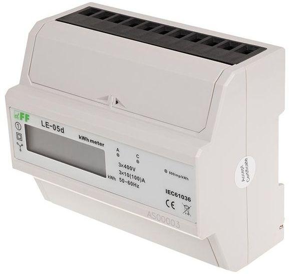 Licznik energii elektrycznej 3-fazowy 3x100A 230V pomiar w ukł. Arona z wyświetlaczem LCD LE-05D