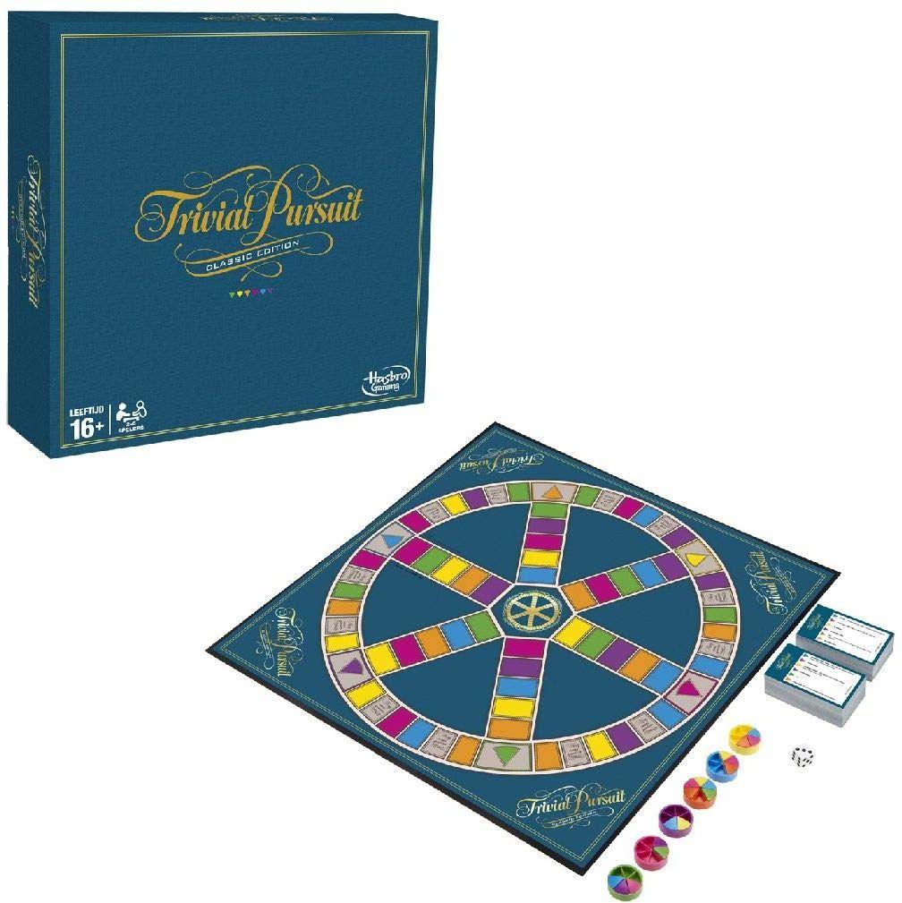 Hasbro C1940104 Trivial Pursuit: Classic , gra