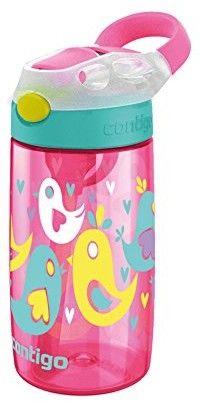 Bidon dla dzieci Contigo Gizmo Flip 420 ml Cherry Blossom Love Birds