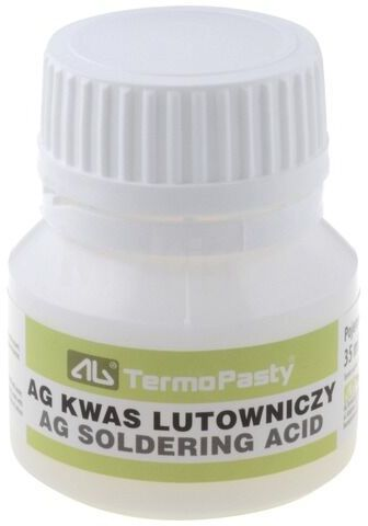 Kwas lutowniczy AG TERMOPASTY AGT-117 35ml