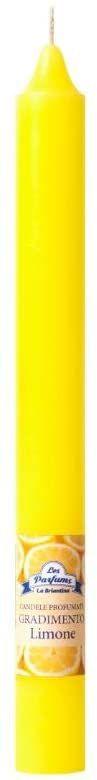 La Briantina Świeca zapachowa CAN03140D, żółta, zapach cytrynowy
