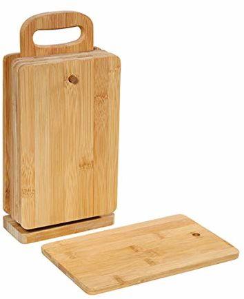 Zassenhaus KP0000054255 Eco Line deska śniadaniowa, bambusowa