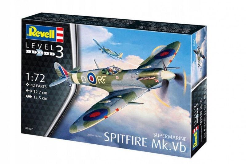 Model plastikowy Spitfire Mk.VB