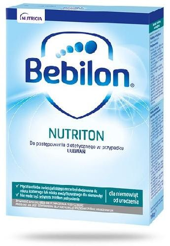 Bebilon Nutriton proszek stosowany w przypadku ulewań, od urodzenia 135 g