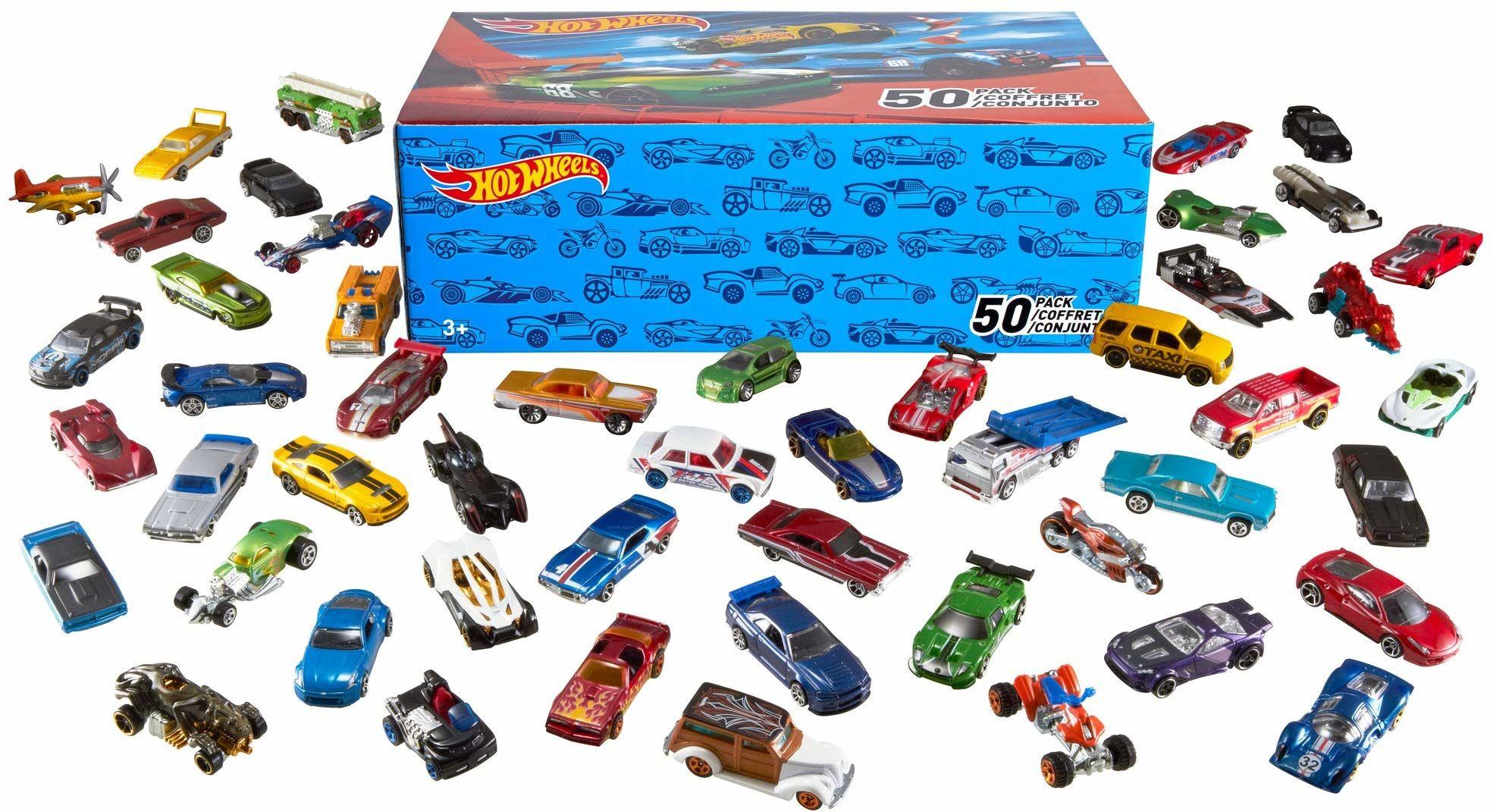 Hot Wheels, Samochodziki 50-Pak V6697